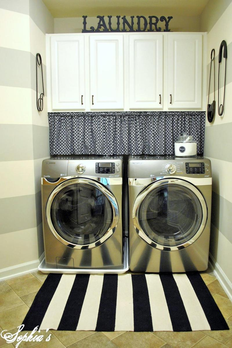 DIY Small Laundry Room Makeovers On a Budget 25