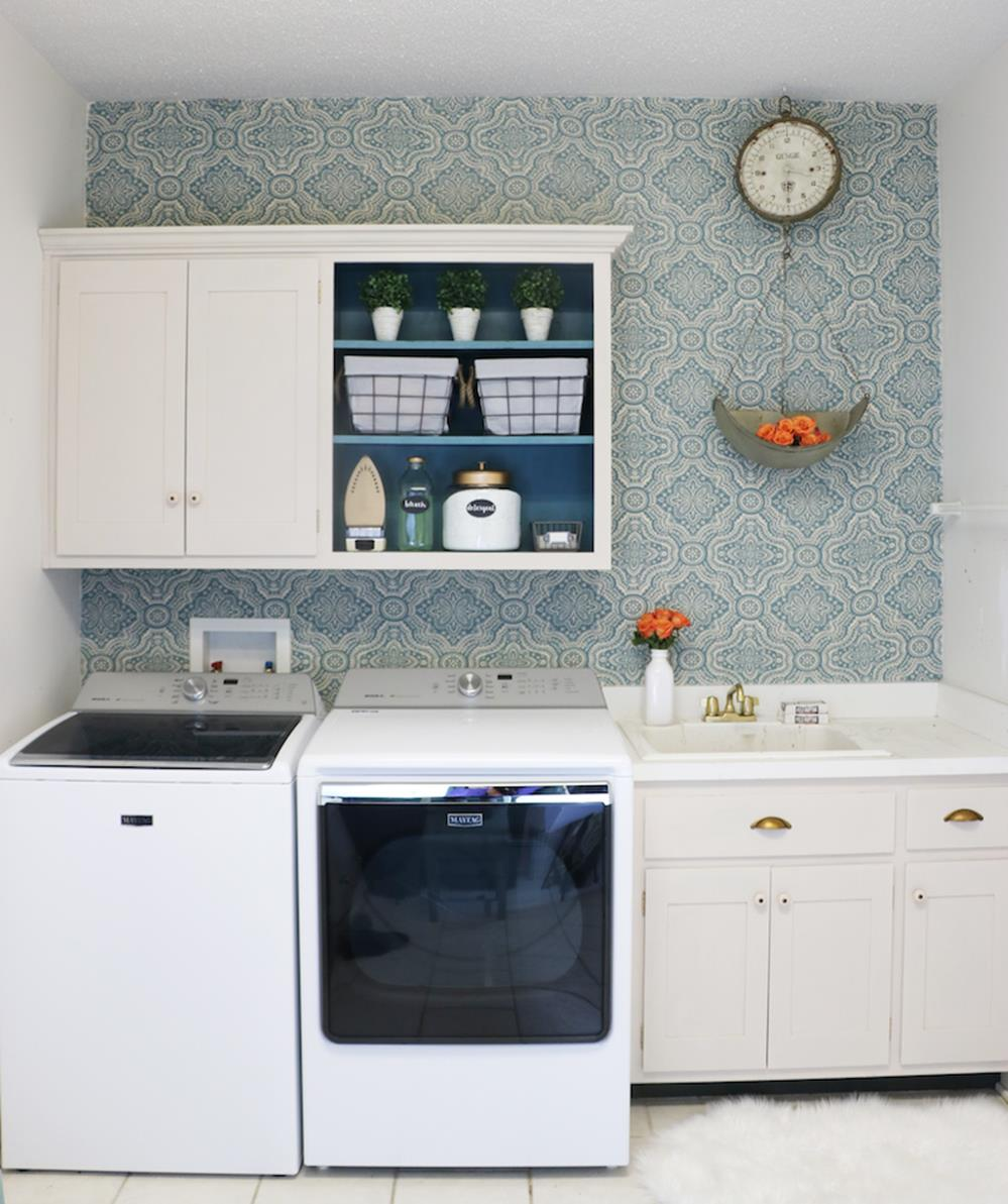 DIY Small Laundry Room Makeovers On a Budget 28