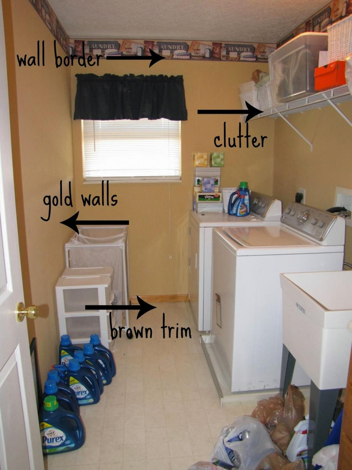 DIY Small Laundry Room Makeovers On a Budget 34