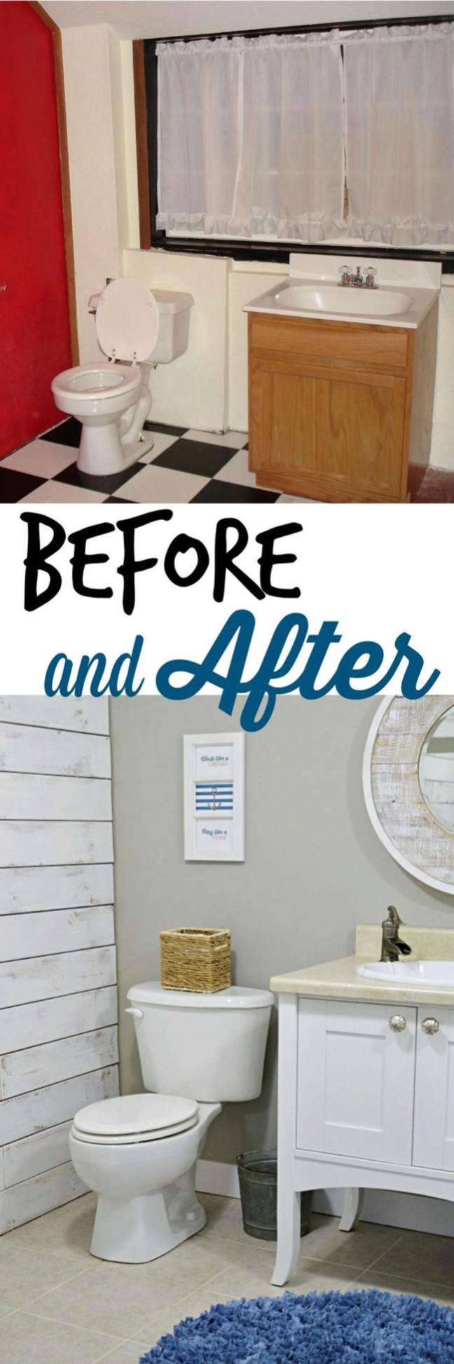 DIY Small Laundry Room Makeovers On a Budget 5