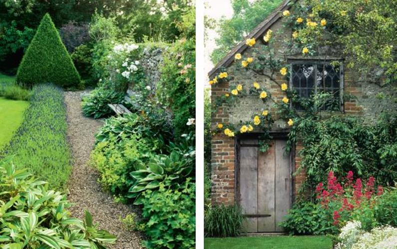 Stunning Country Cottage Gardens Ideas 1
