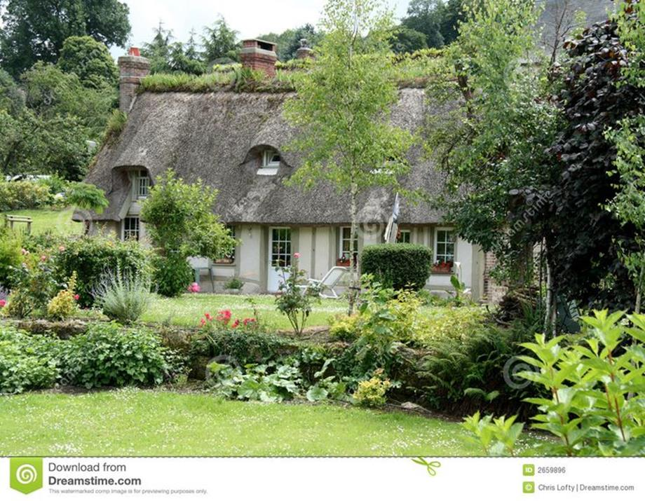 Stunning Country Cottage Gardens Ideas 25