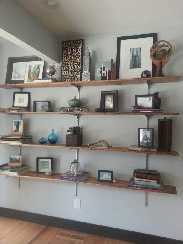 Craft Room Wall Shelving 46 Easy Diy Shelves for Craft Room Instead Of Ing Book Shelves Hang Rows Of Separate Shelves 7