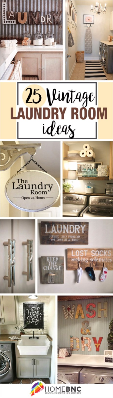 Laundry Room Wall Art Decor Layout 84 25 Best Vintage Laundry Room Decor Ideas and Designs for 2017 5