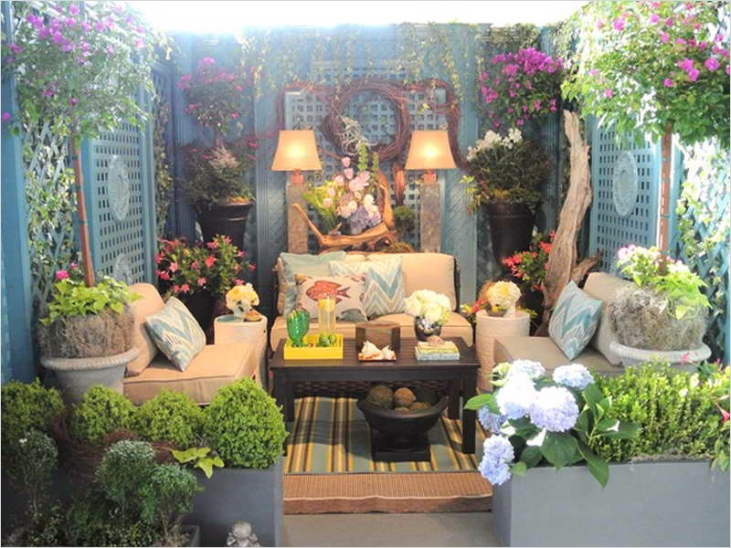 42 Cozy Small Outdoor Living Spaces 74 Decor Ideas for Small Spaces Outdoor Living Spaces Small Ideas Small Outdoor Space Ideas 7