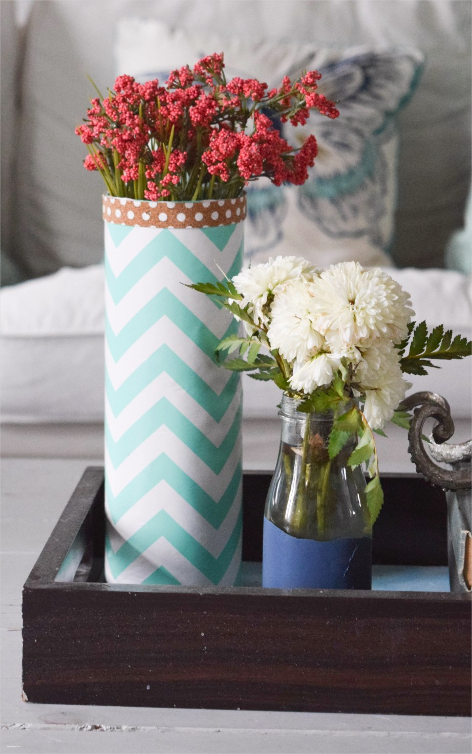 Spring Floral Bedroom Decor 62 Spring Home tour A Coastal and Bold Style • Our House now A Home 9