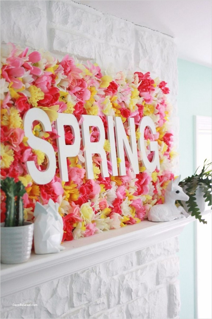 Spring Floral Bedroom Decor 32 Adorable Diy Spring Wall Decor that You Have to See 3