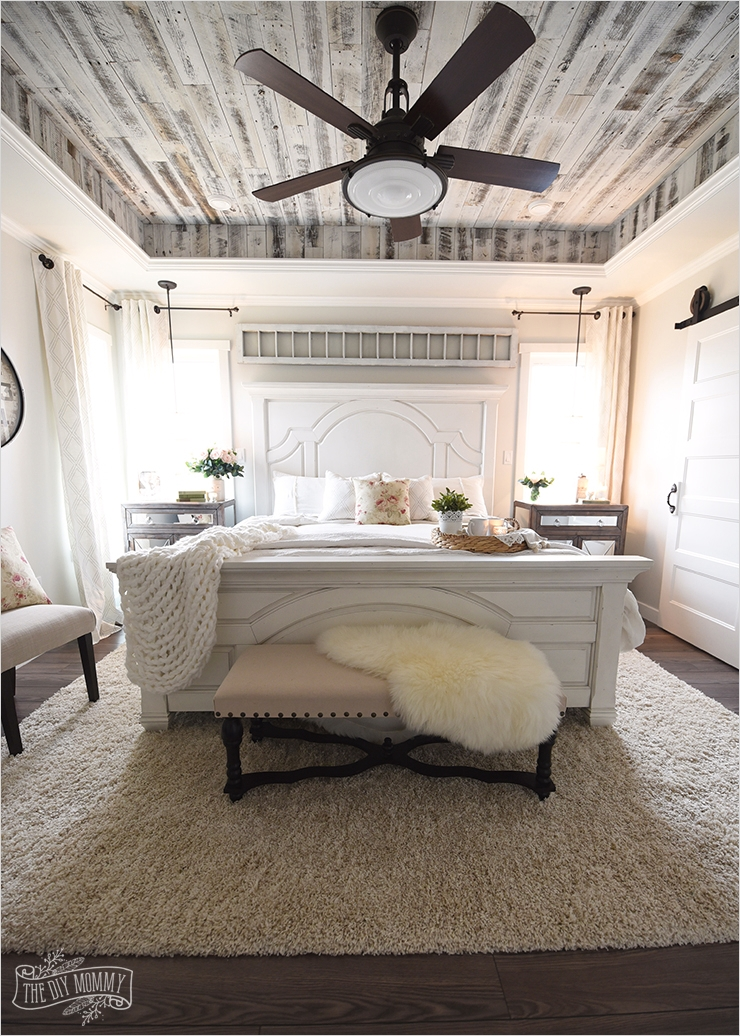 43 Stunning Country Farmhouse Bedroom Ideas 35 Our Modern French Country Master Bedroom – E Room Challenge Reveal 7
