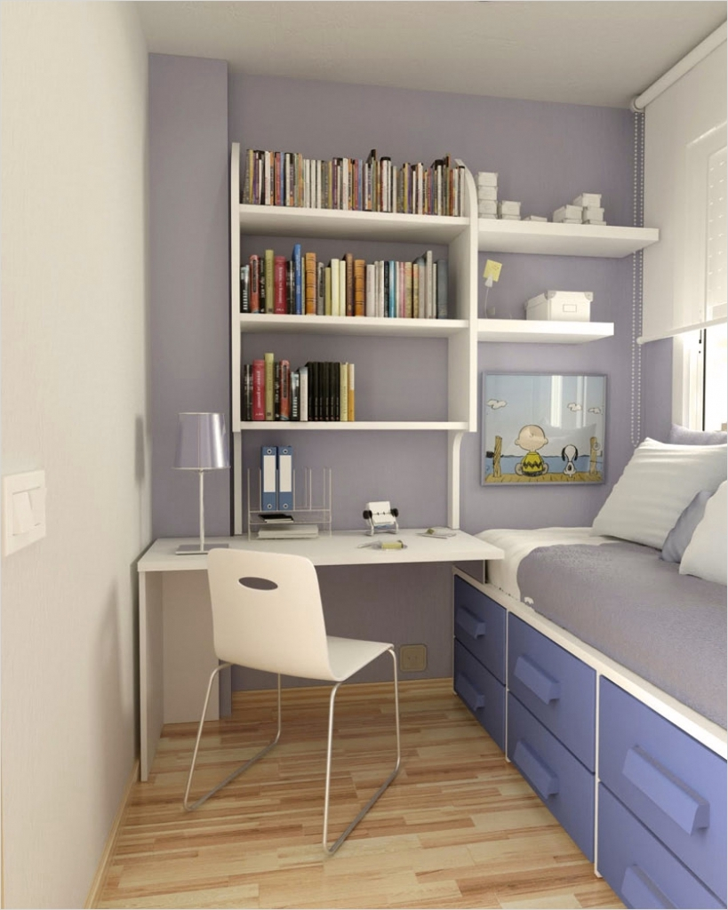 42 Creative Small Room Storage Ideas 82 Bedroom Small Room Ideas Great Ideas for Small Spaces Small within Desks with Storage for Small 5