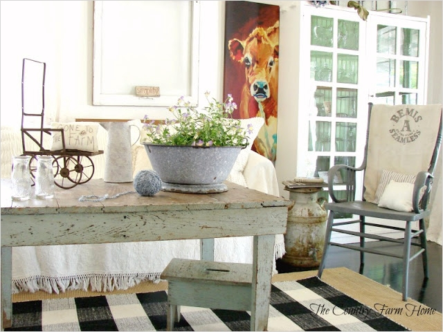 42 Cozy Country Farmhouse Living Room 97 the Country Farm Home before and after Series the Farmhouse Living Room Part Ii the Reveal 3