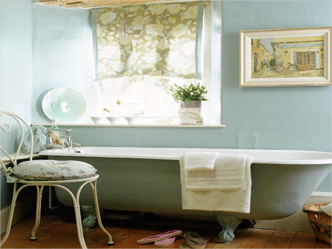 40 Stunning French Country Small Bathroom 56 French Country Bathroom Idea Standing Bath Image Ideas 9