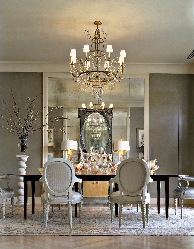 44 Elegant Home Decor Accents Ideas 23 House & Post Antique Mirrors 4