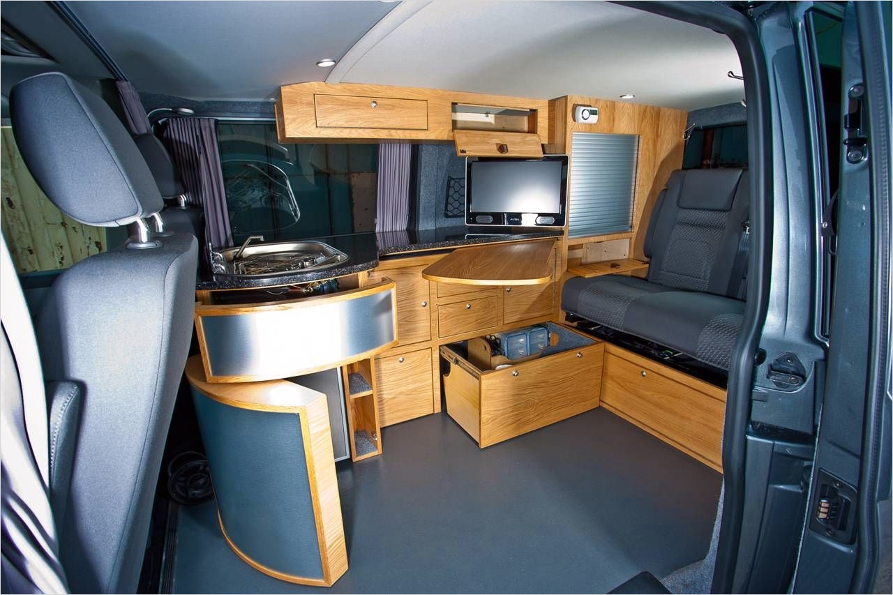 43 Perfect Rv and Camper Interior Ideas 11 [image Vw Camper Van Interior Open Large ] Wifly Pinterest 8