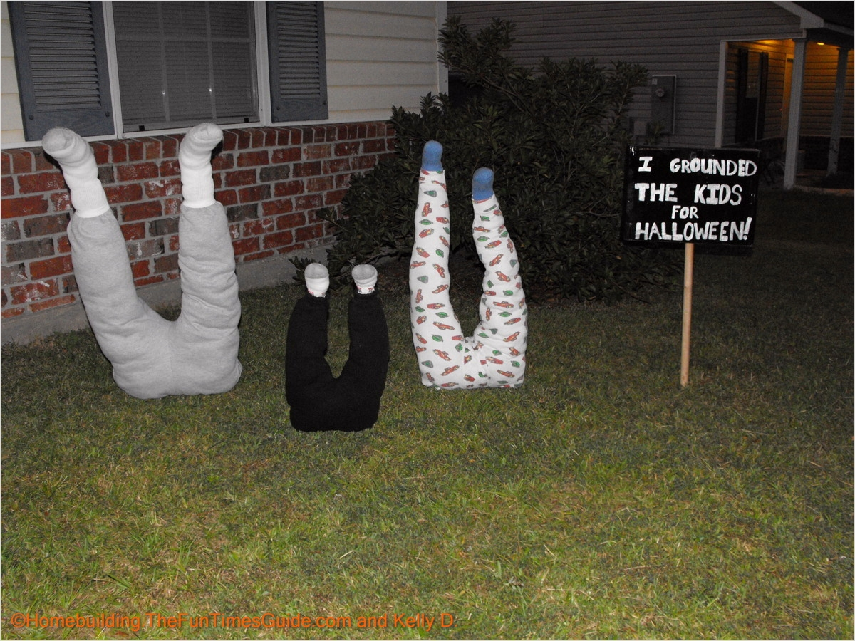 42 Cute Halloween Decoration Ideas 42 Kids Being Bad Ground them for Halloween This Year 6