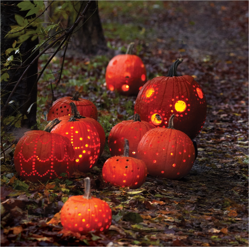 40 Simple Pumpkin Carving with Drill Ideas 49 Pumpkin Carving Idea How to Carve A Pumpkin with A Drill 4