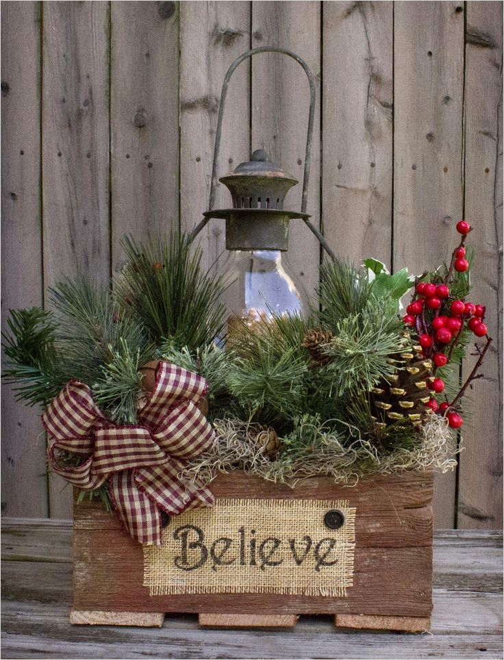 42 Stunning Country Christmas Centerpieces Ideas Ideas 25 25 Best Ideas About Country Christmas Crafts On Pinterest 9
