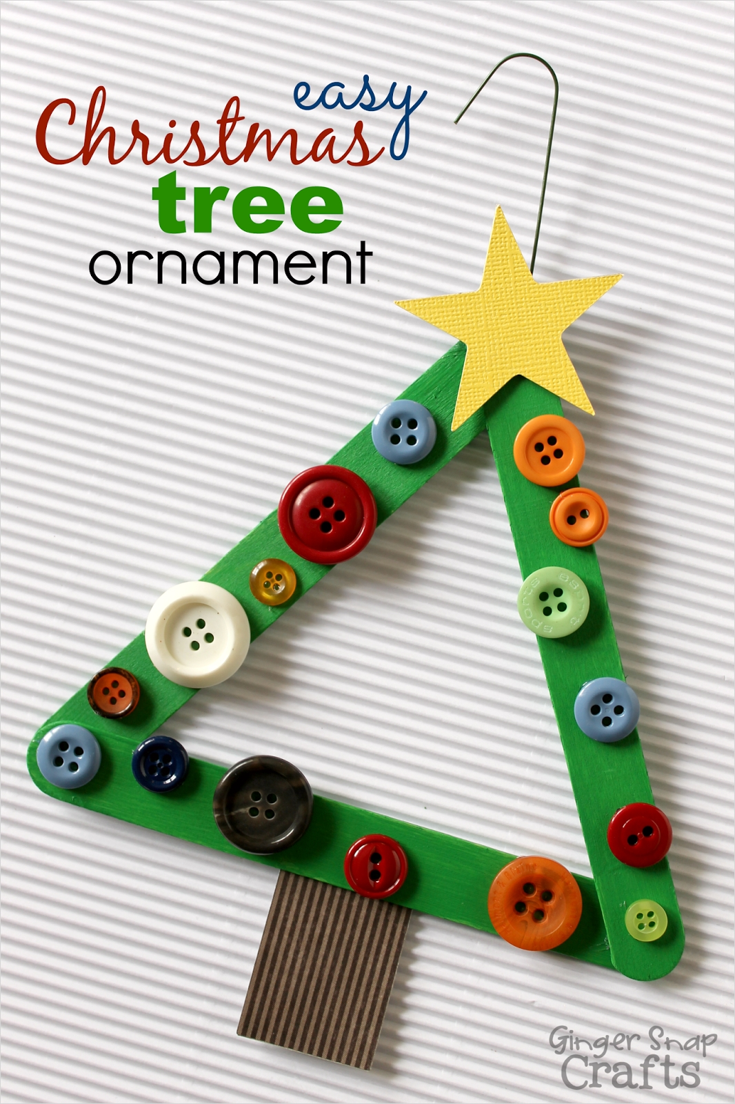 40 Diy Easy Christmas ornament Crafts Ideas 95 Easy Paper ornament Ginger Snap Crafts Lines Across 2