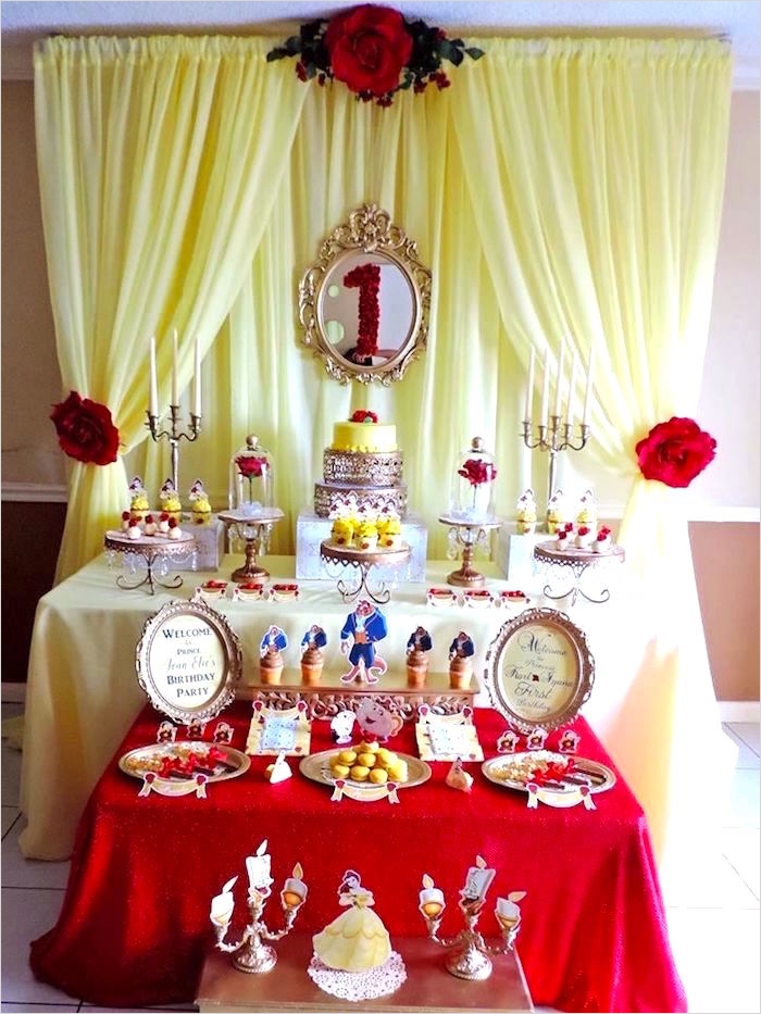 35 Beauty and the Beast Decorations Ideas 15
