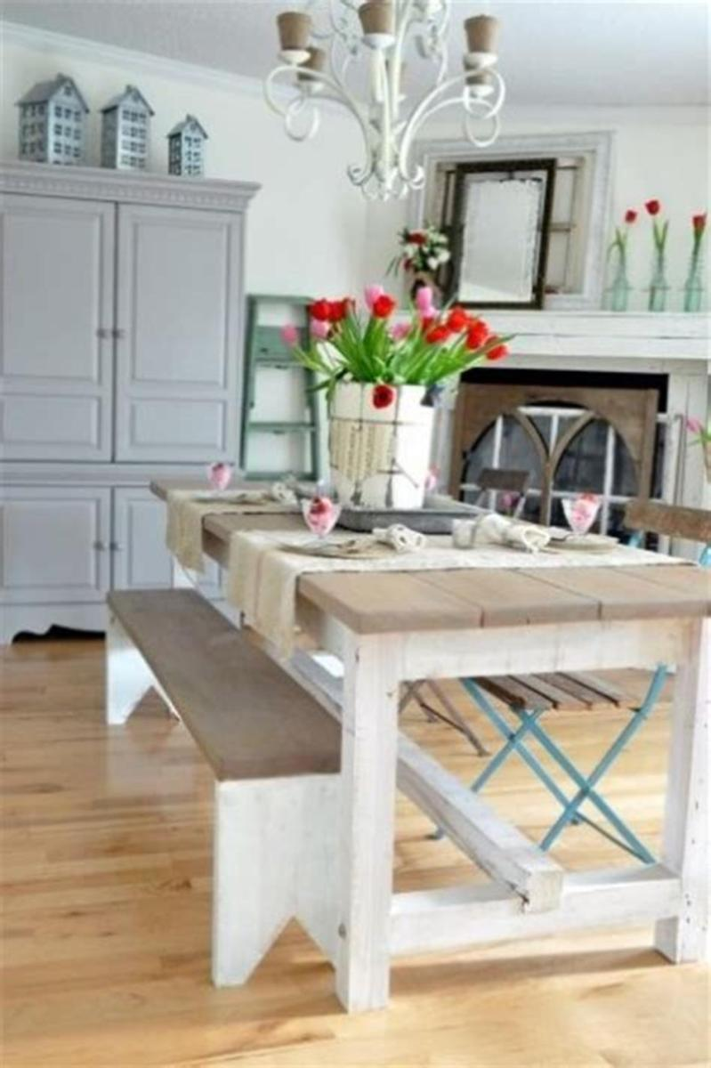 35 Stunning Spring Kitchen and Dining Room Decorating Ideas 2019 39