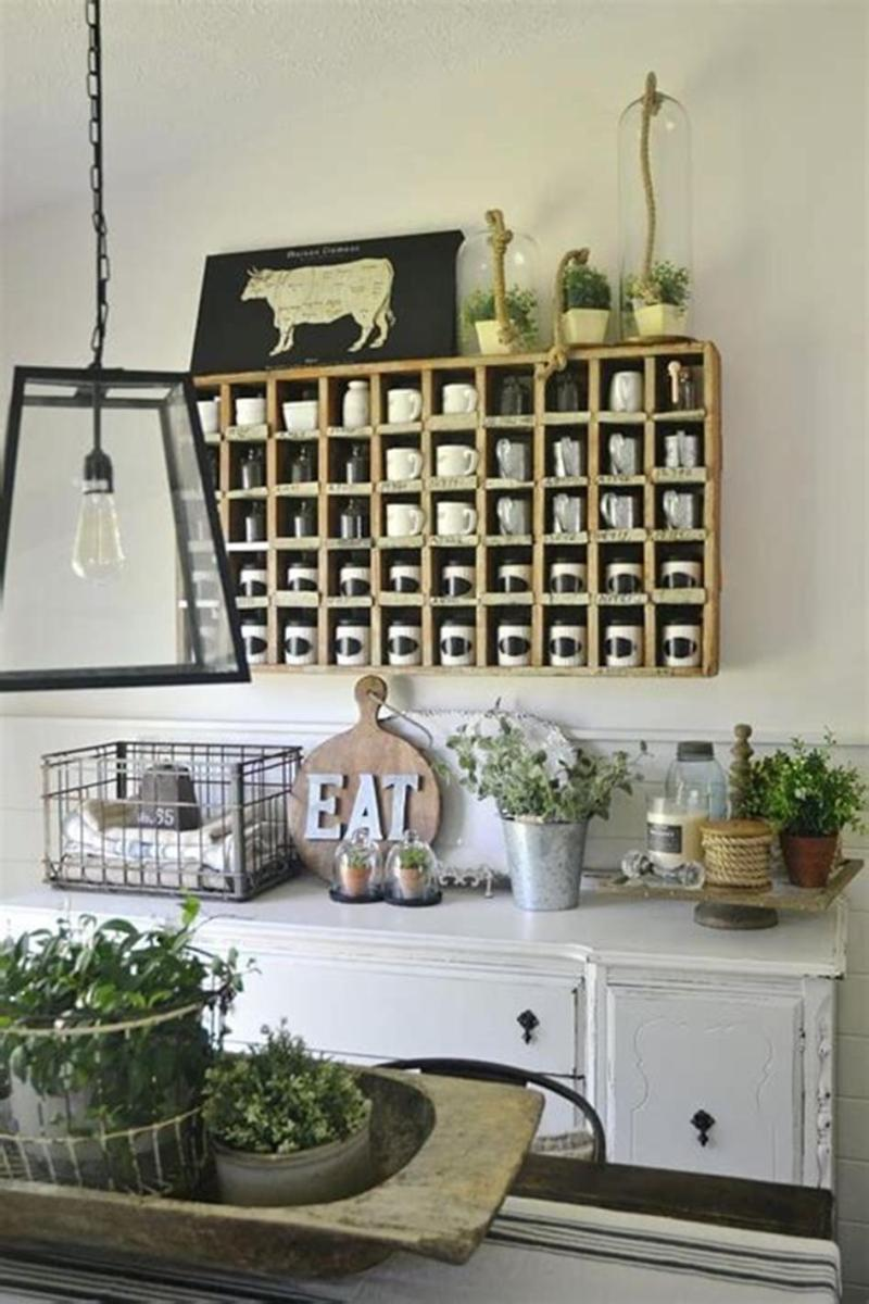 35 Stunning Spring Kitchen and Dining Room Decorating Ideas 2019 5