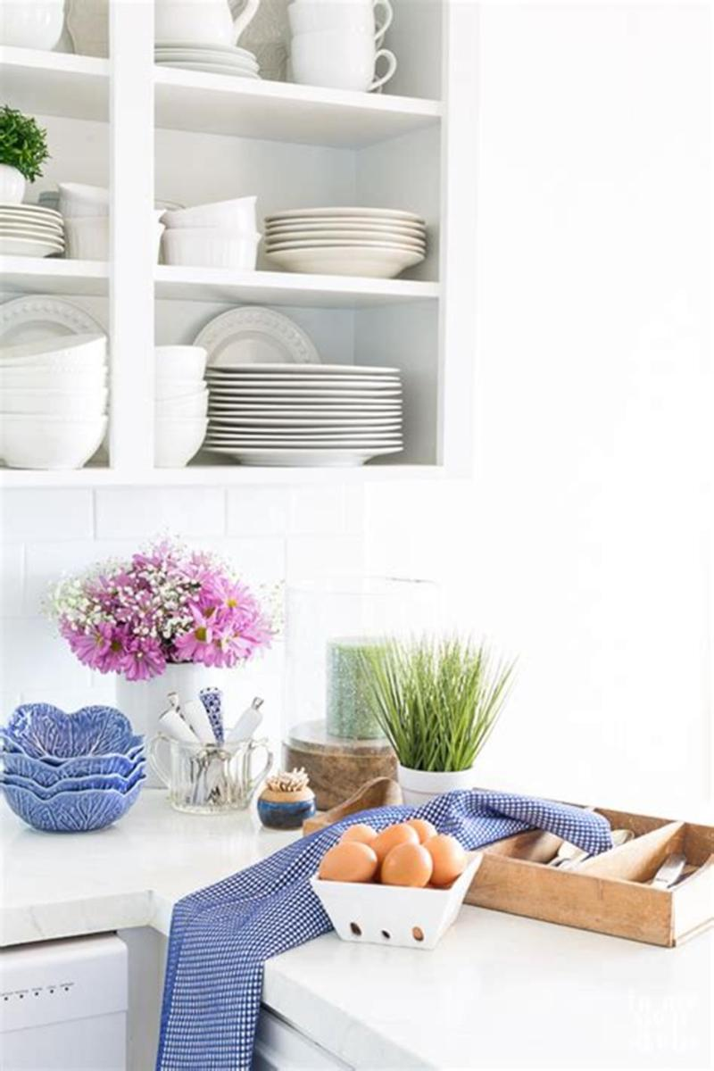 35 Stunning Spring Kitchen and Dining Room Decorating Ideas 2019 61