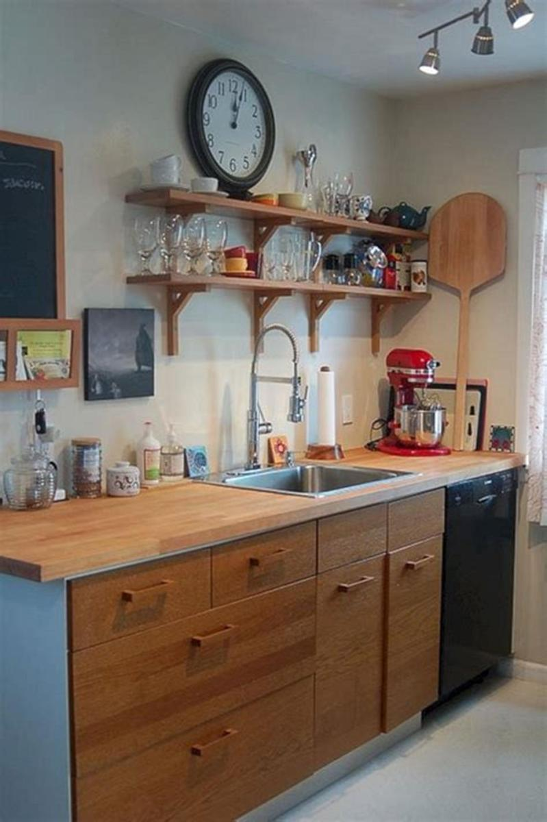 43 Amazing Kitchen Remodeling Ideas for Small Kitchens 2019 25