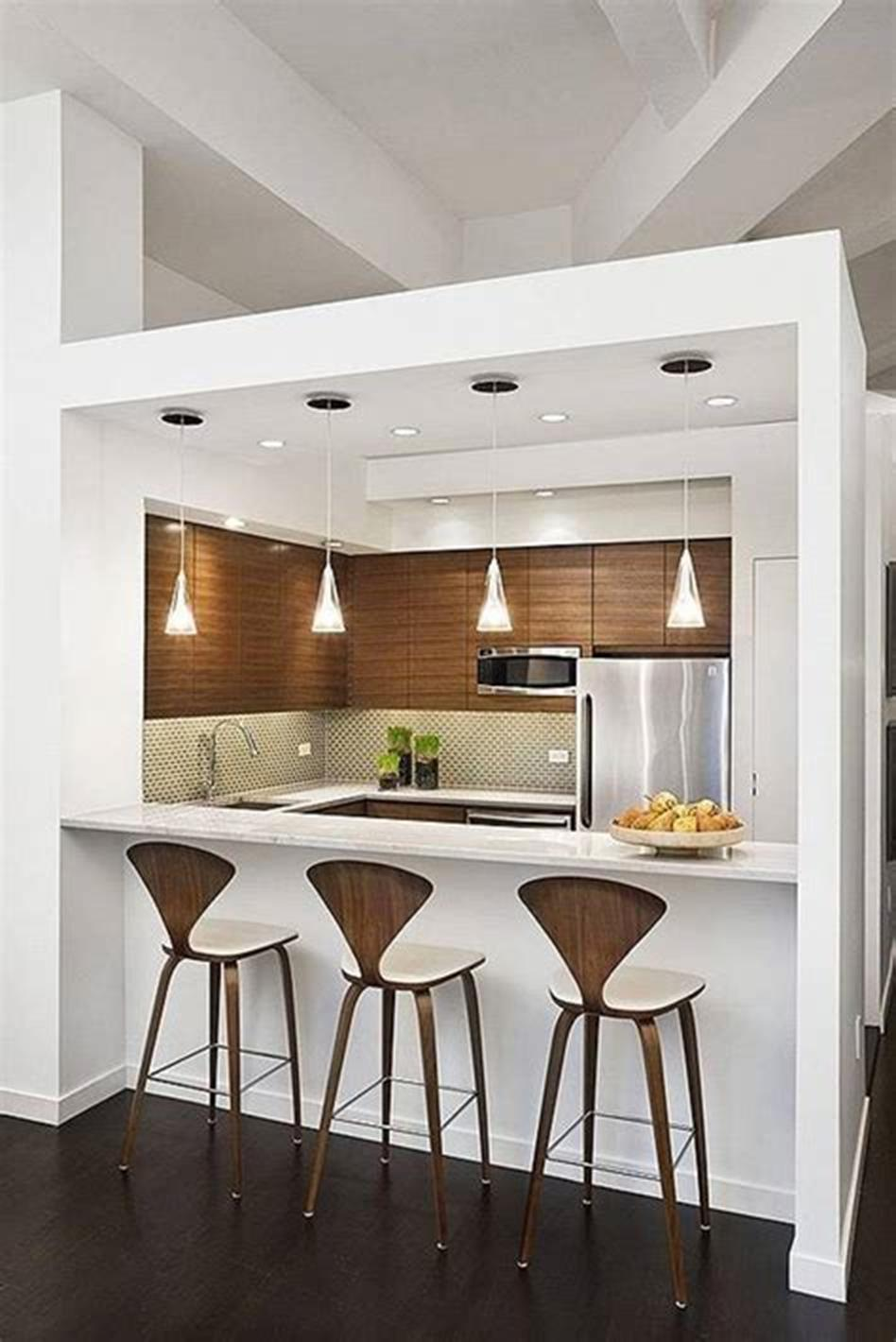 43 Amazing Kitchen Remodeling Ideas for Small Kitchens 2019 45