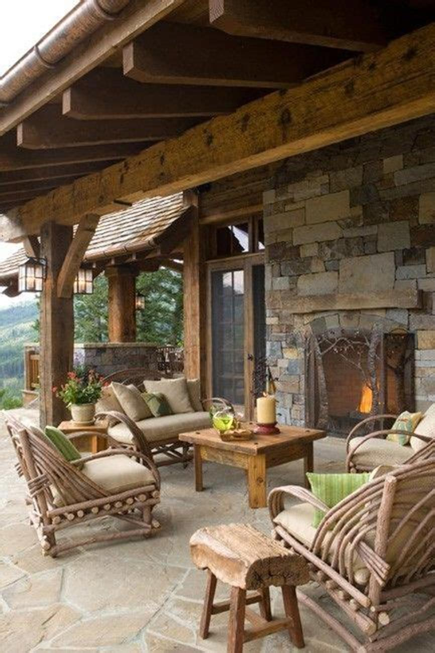 45 Perfect Rustic Porch Furniture Ideas for 2019 13
