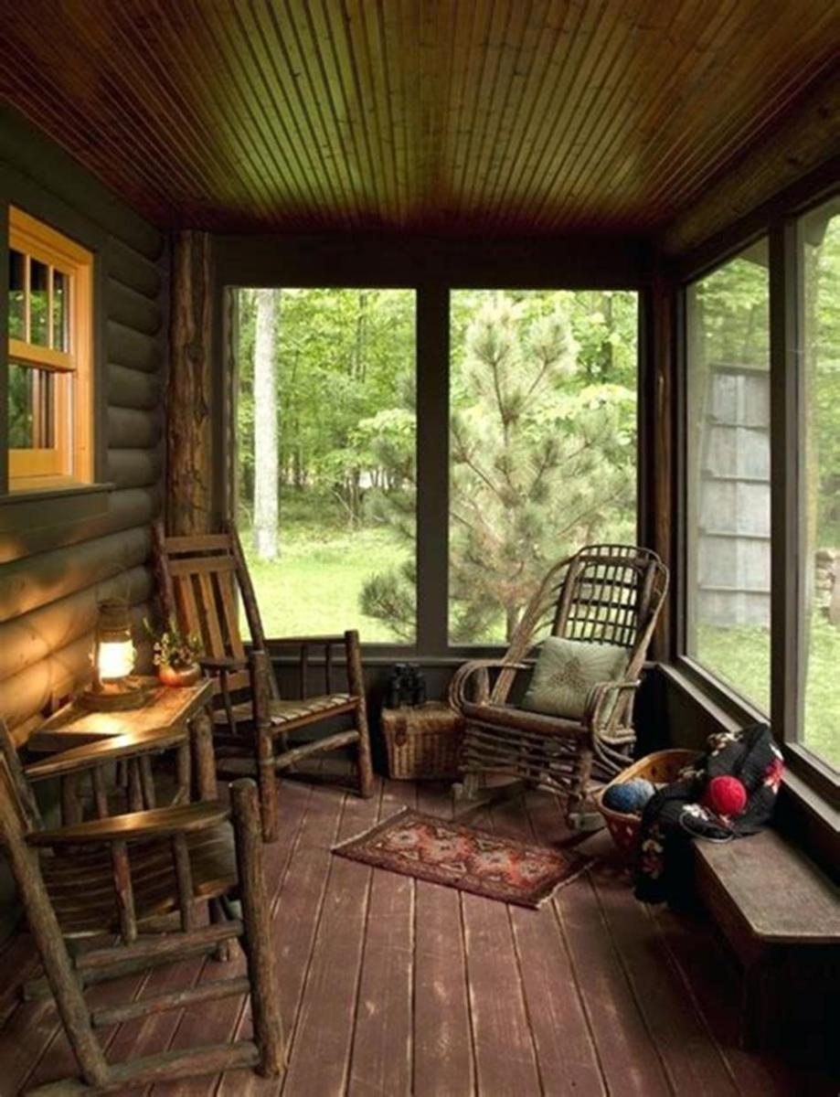 45 Perfect Rustic Porch Furniture Ideas for 2019 27