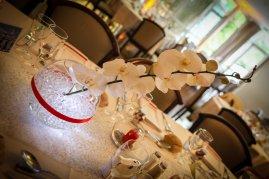 Centre de table des tables invités