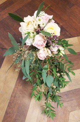 Bouquet pastel champêtre chic