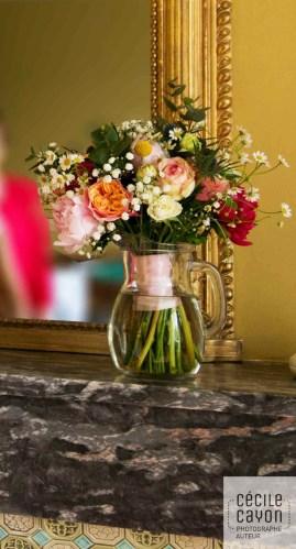 Bouquet champêtre et coloré