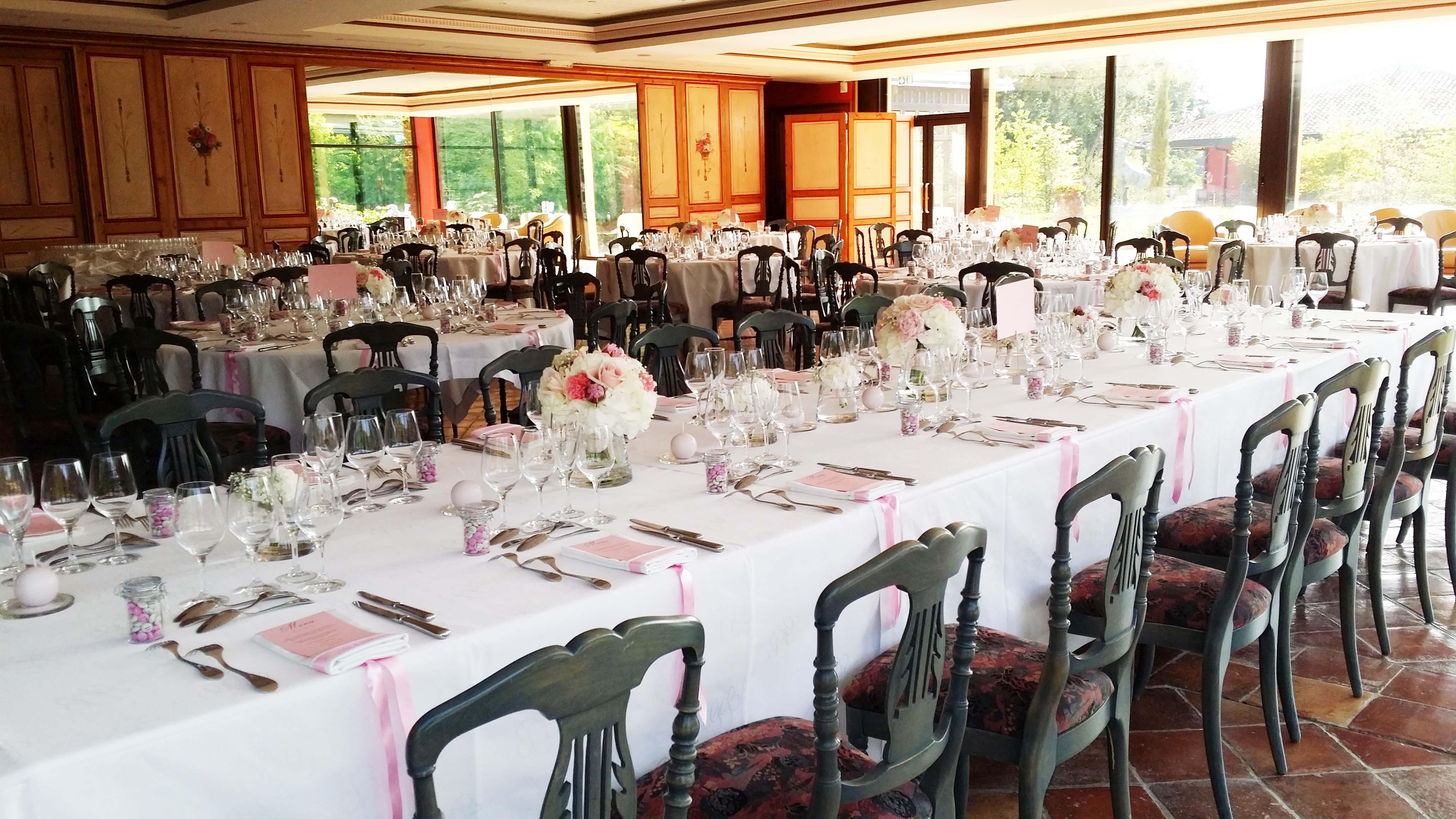 Stunning Dcoration De Table Bouquet En Vase Bougies Et