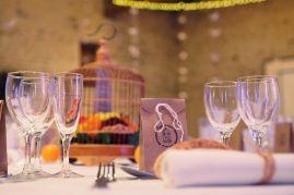 Décoration des tables du mariage
