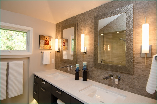 Master Bathroom Light Remodel 48 Master Bath with Vaulted Ceiling Remodel Contemporary Bathroom Portland by Pangaea 8