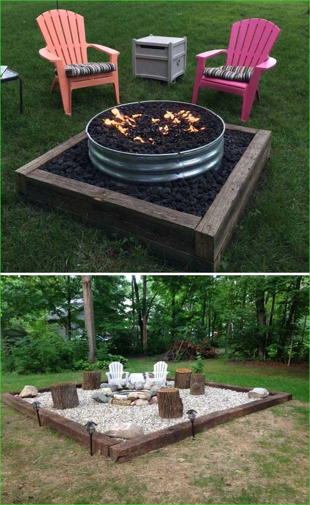 Creative Tiny Backyard Sitting areas 43 22 Backyard Fire Pit Ideas with Cozy Seating area – Homedesigninspired 4