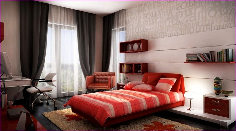 Cute Mix Color Bedrooms for Teenage Girls 79 Cute Bedroom Color Schemes for Teenage Girls 6