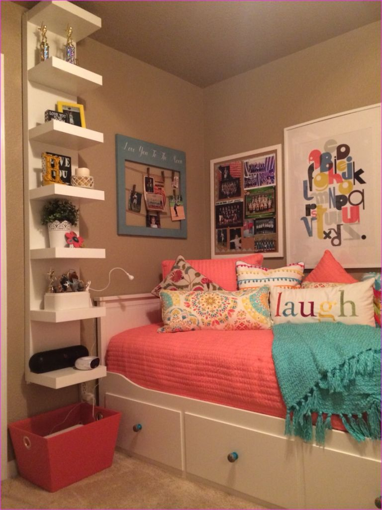 Cute Mix Color Bedrooms for Teenage Girls 27 Bedroom Cute Teenage Girl Bedroom Ideas for Small Rooms Tumblr Diy Wall Colors Big Teenage 6