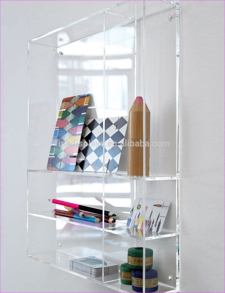 Wall Display Shelving Ideas 68 Lucite Wall Mounted Shelf 5