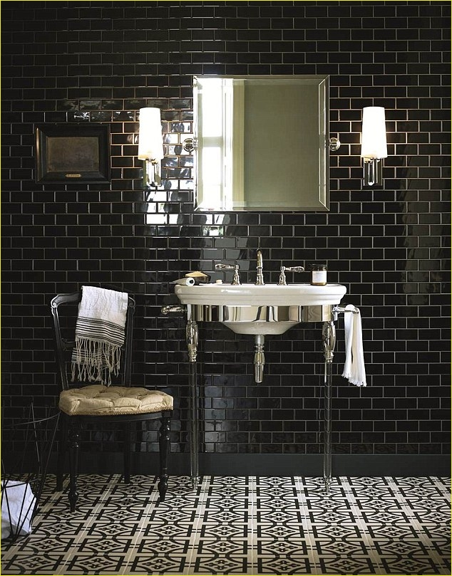 Art Deco Bathroom Tiles 26 Going for Bold Make A Splash In Your Bathroom with Monochrome Tiling and Dramatic Art Deco 6