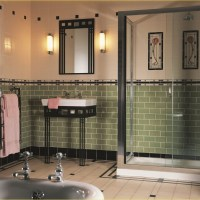 40 Wonderful Art Deco Bathroom Tiles Designs