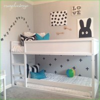 39 Affordable IKEA Kura Beds Kids Room Ideas