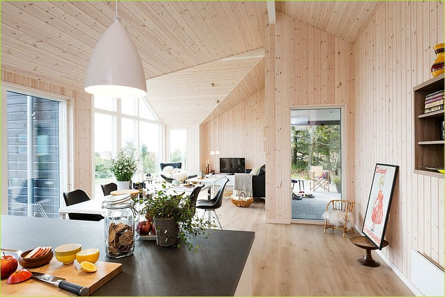 Living Rooms Denmark Decorating Ideas 39 Exquisite Summer House with Danish Design by Skanlux 3