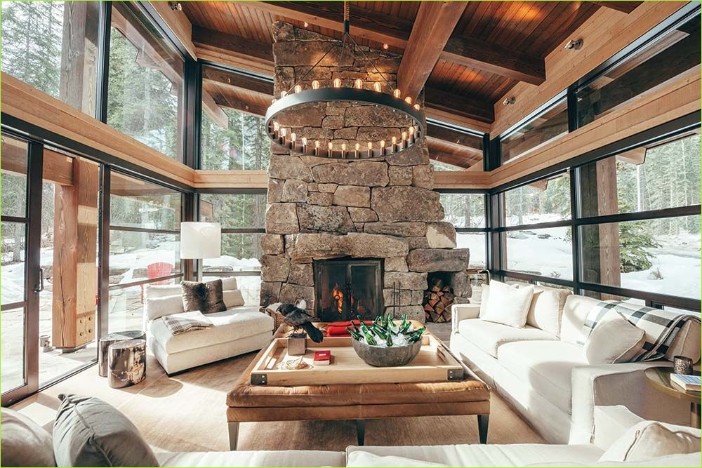 Living Rooms Denmark Decorating Ideas 37 Rugged Mountain Ski Retreat In the Canadian Rockies for the Home 2