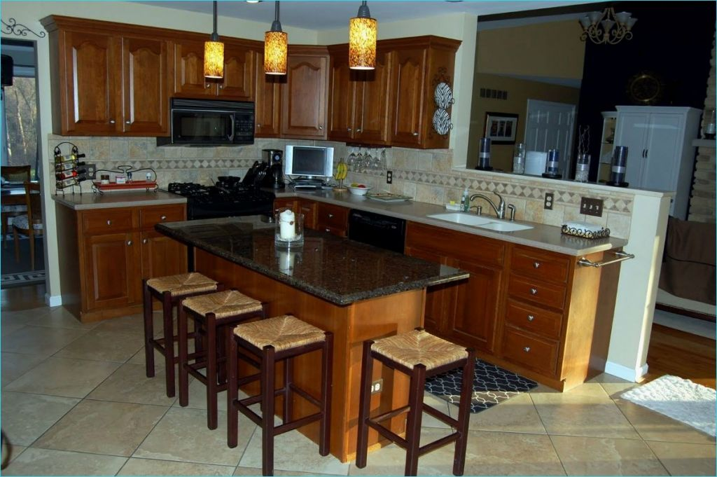 Narrow Kitchen island with Seating 23 Beautiful Narrow Kitchen islands with Seating Gl Kitchen Design 2
