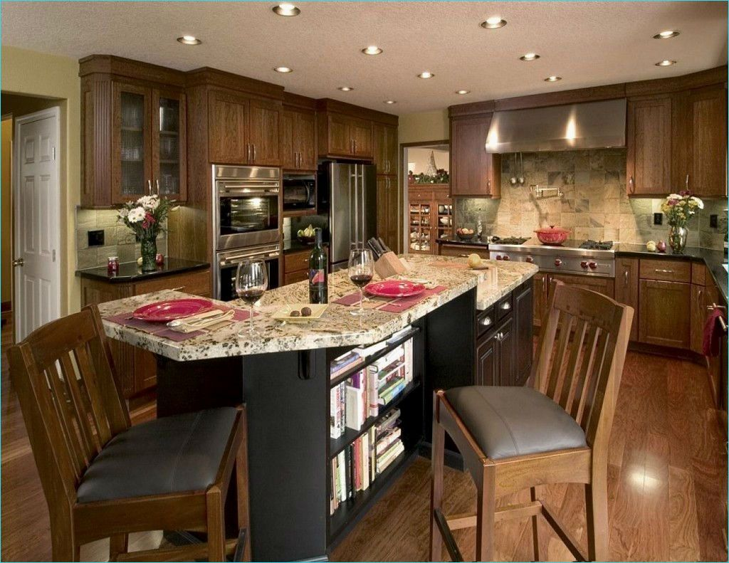 Narrow Kitchen island with Seating 63 Elegant Narrow Kitchen island with Seating Gl Kitchen Design 8