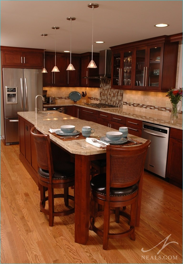 Narrow Kitchen island with Seating 85 islands and Peninsulas In the Kitchen 5