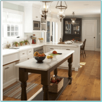 38 Amazing Narrow Kitchen Island with Seating Ideas
