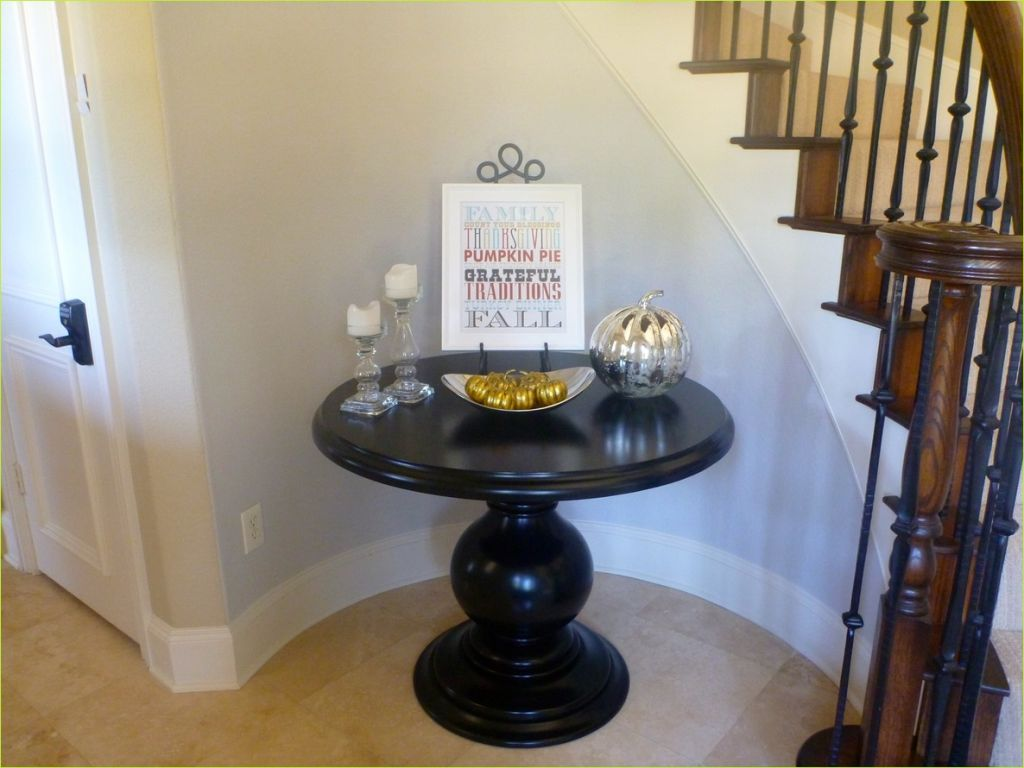 Round Foyer Entrance 24 Black Round Entryway Table — Stabbedinback Foyer Decorate An Entrance Hall with Round Entryway 2
