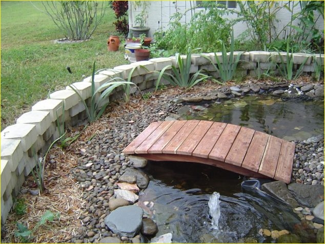 Small Backyard Bridge 62 15 Inspirative Garden Pond with Bridge that You Would Like to See 2
